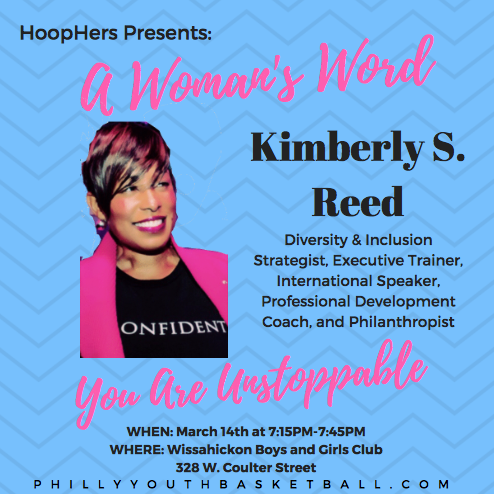 HoopHers Forum – Week 7 [3.14.18] Kimberly Reed